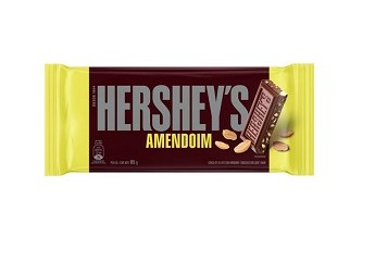 Barra De Chocolate com Amendoim Hershey's 85g